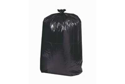 55 Gallon 1.5 mil Trash bag Blk